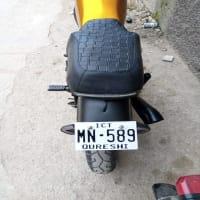 Suzuki 150 modified bike