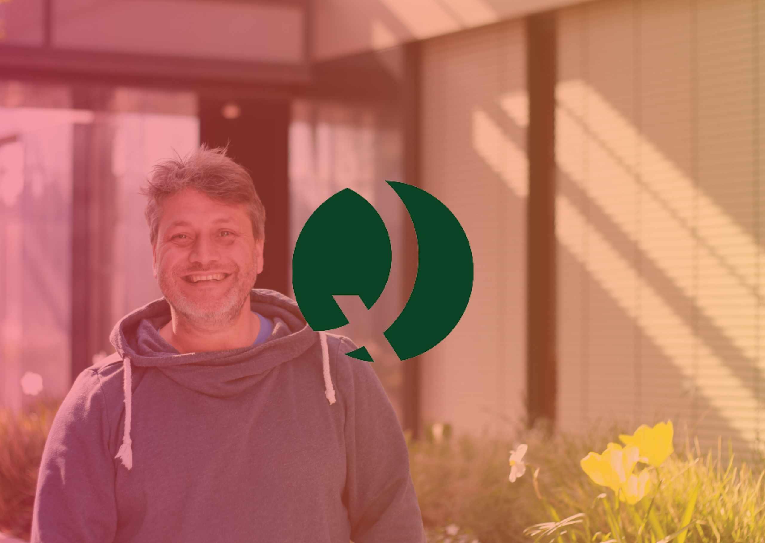 Q Connect Eingangsseite Webseite