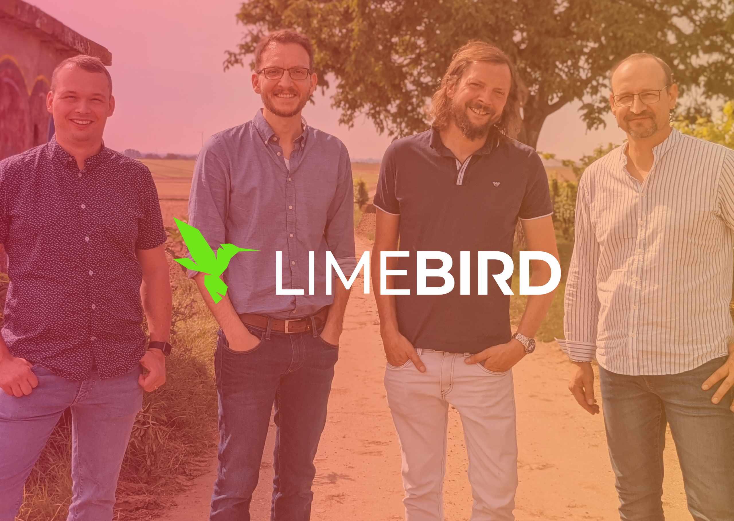 Limebird Eingangsseite Webseite