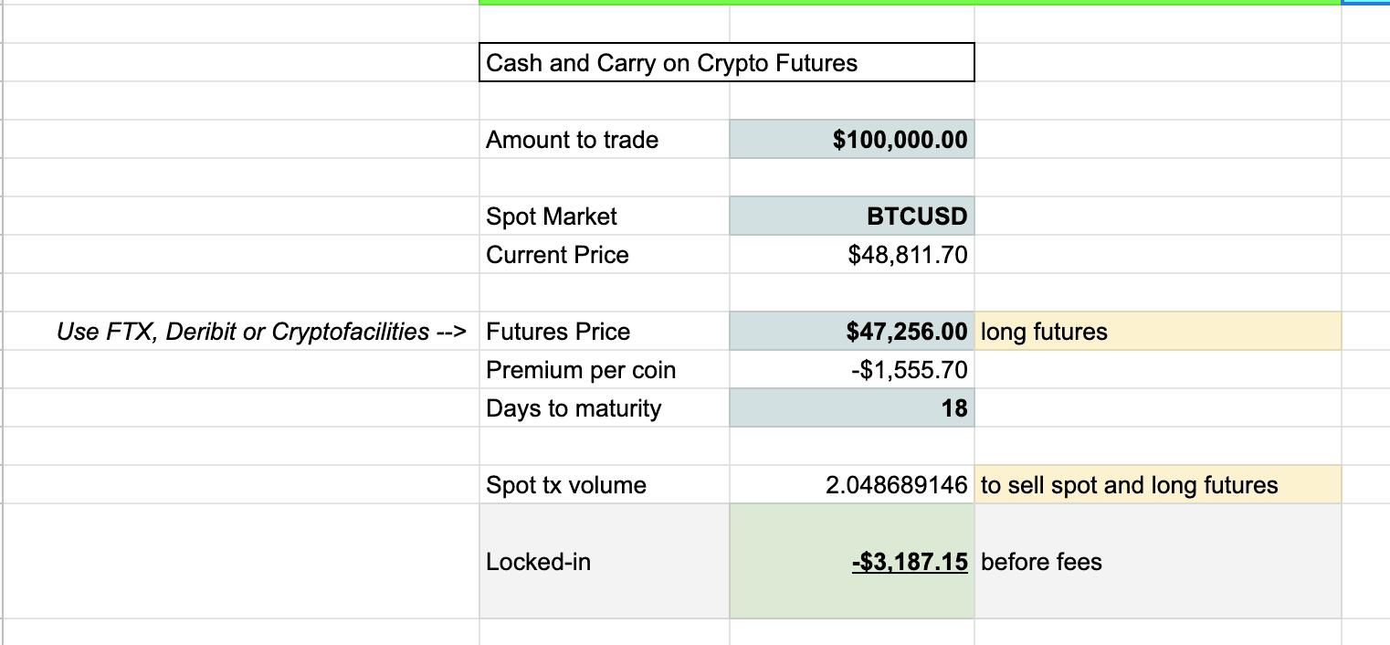 Crypto Arbitrage and Yield Trading Spreadsheet Templates