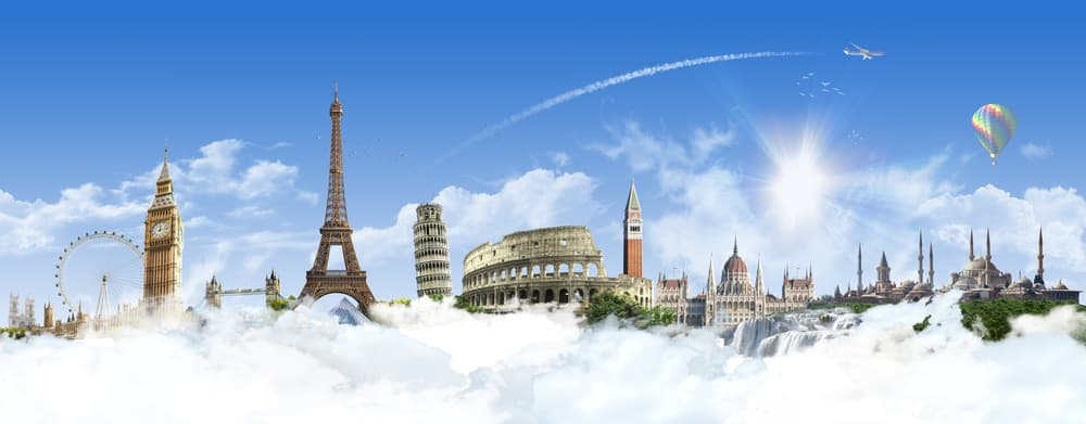 Do I need travel insurance for Europe? Iconic buildings in Europe