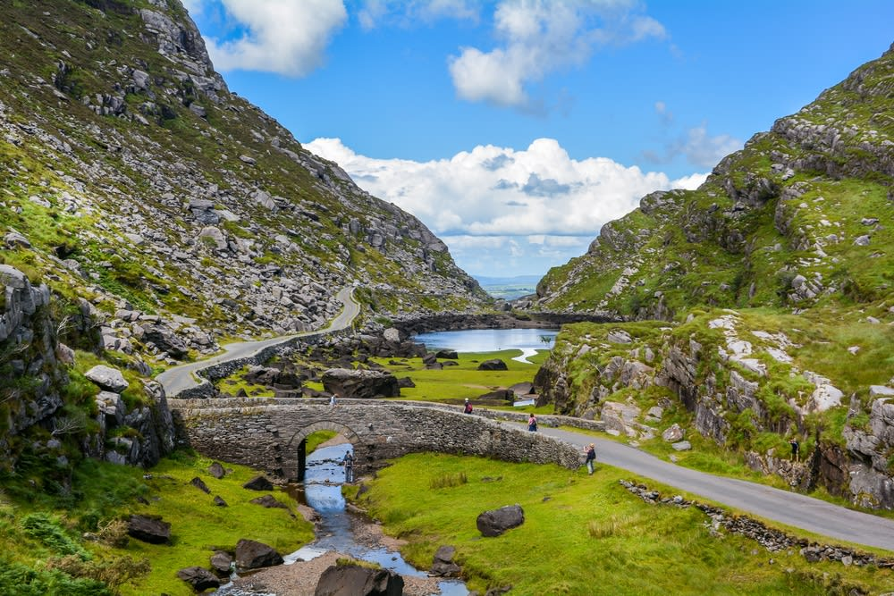 Do I need travel insurance for Europe? Cliffs in Kerry Ireland
