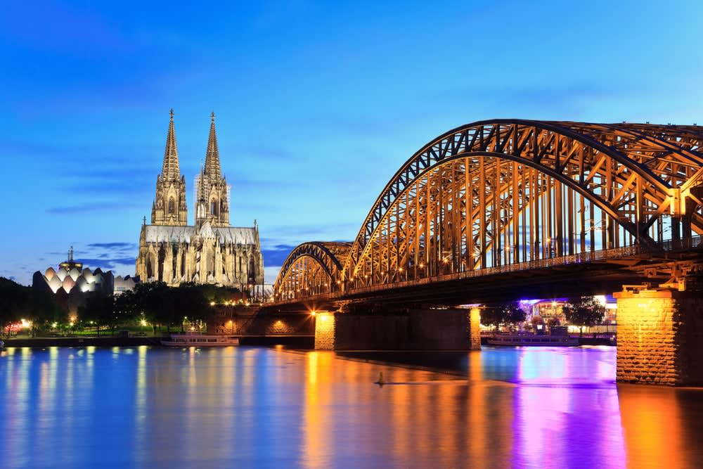 Do I need travel insurance for Europe? Bridge in Cologne Germany