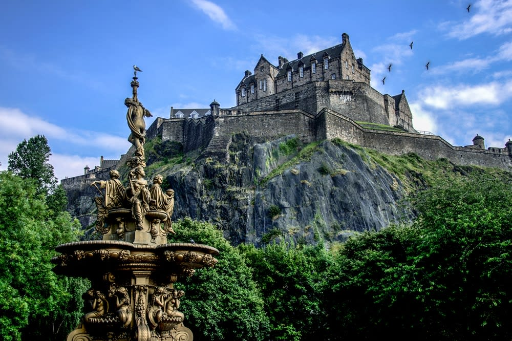 The UK's best staycation destinations: Edinburgh, UK