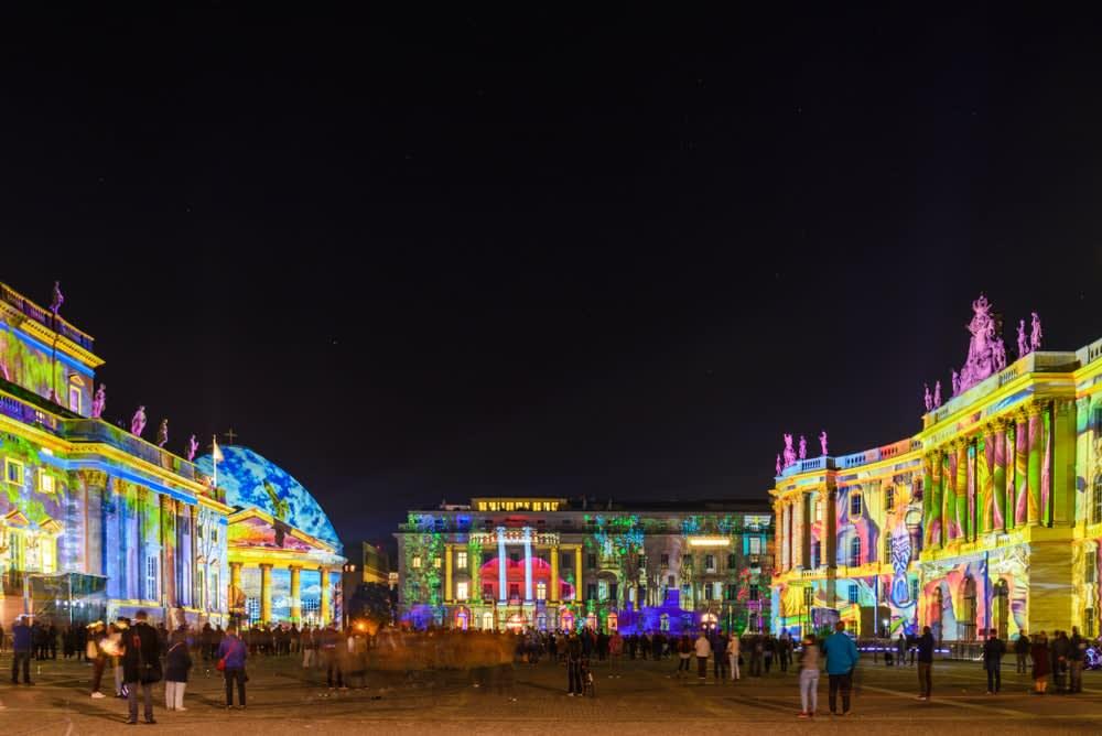 The best Autumn holiday destinations: Berlin, festival of lights
