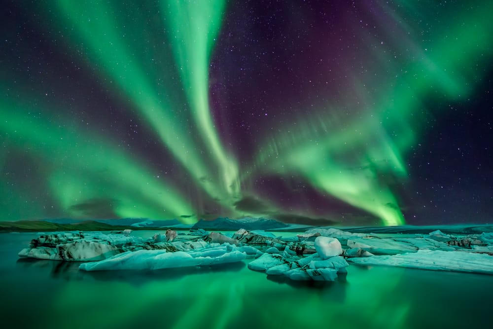 The 5 best ecotourism holidays for mature travellers: Northern Lights in Iceland