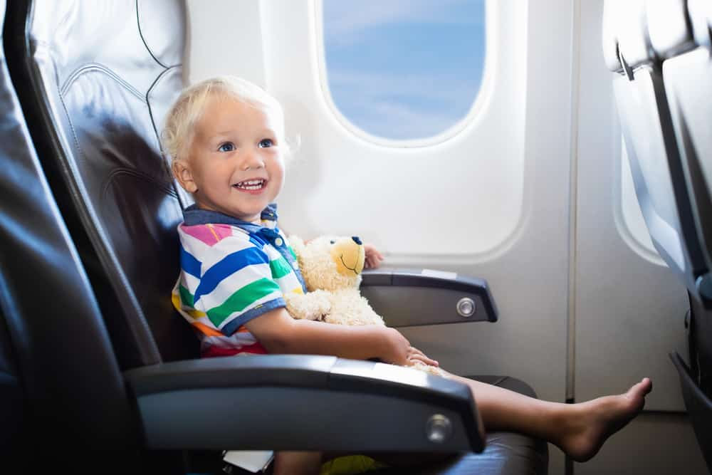 Holiday Curtailment Insurance Policy: Kid on a plane