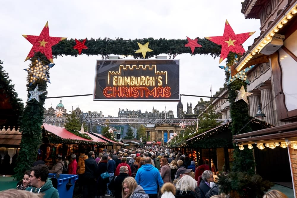 10 of the best Christmas markets in Europe: Edinburgh, Scotland Christmas market