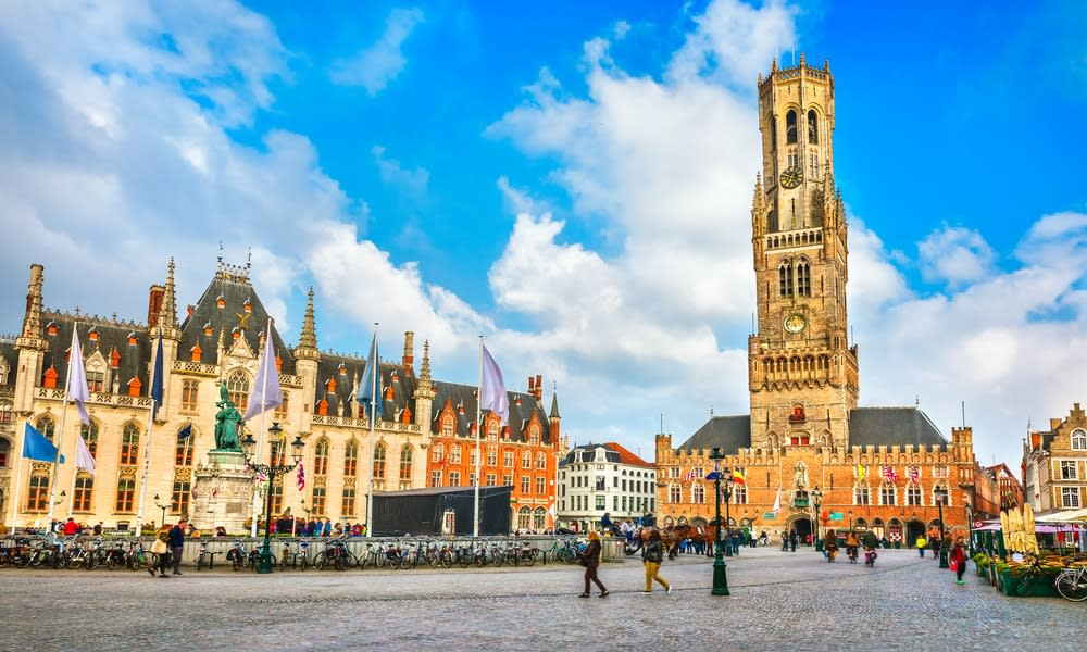 The top 5 city breaks in europe: Bruge