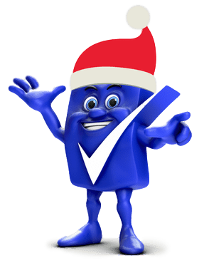 Christmas at home versus going on holiday: Santa Big Tick