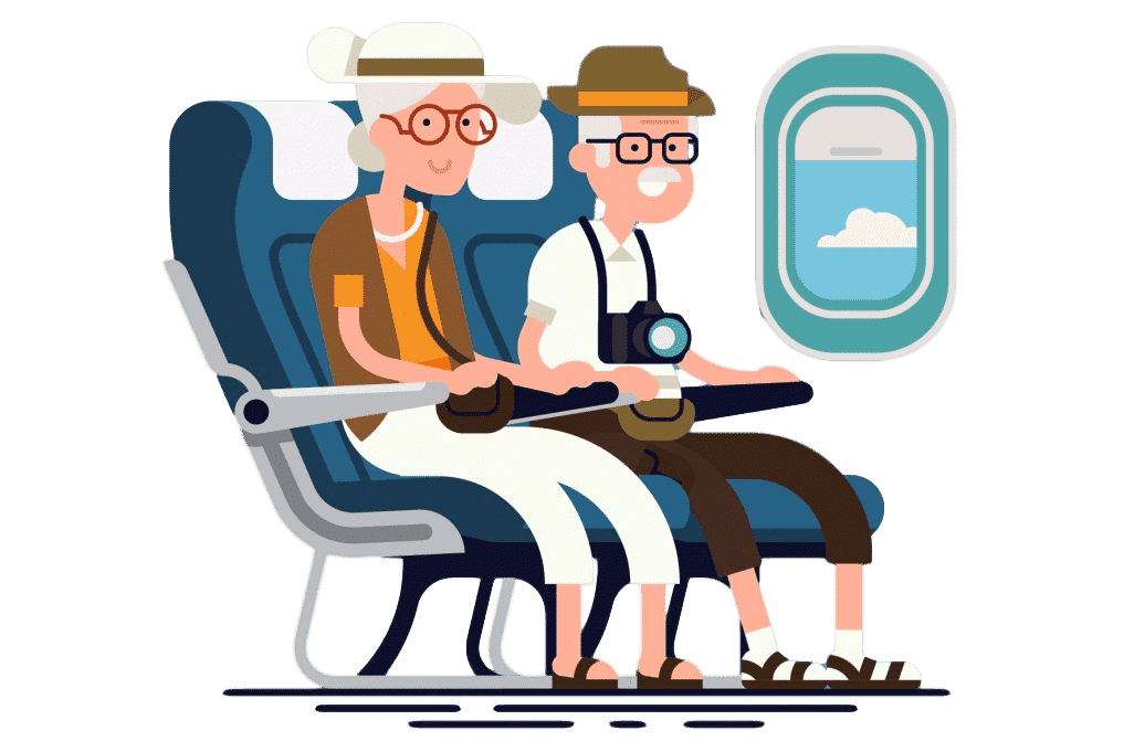 Flying with COPD: passengers