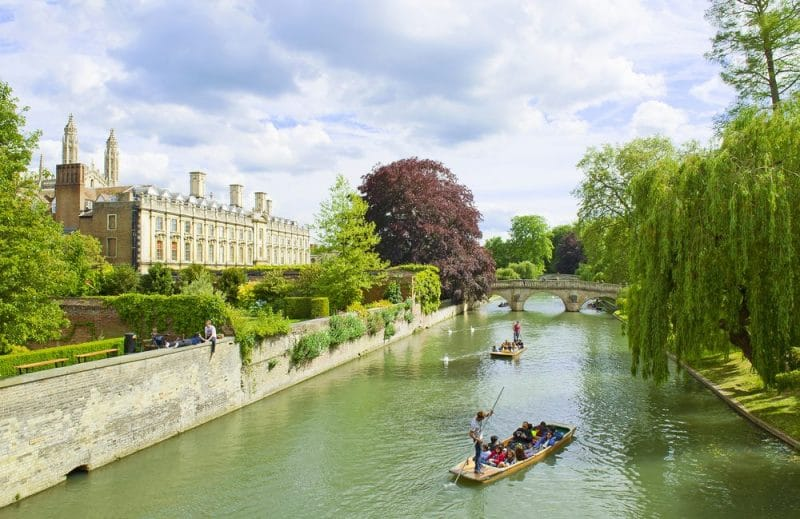 The 6 best travel destinations for seniors: Cambridge
