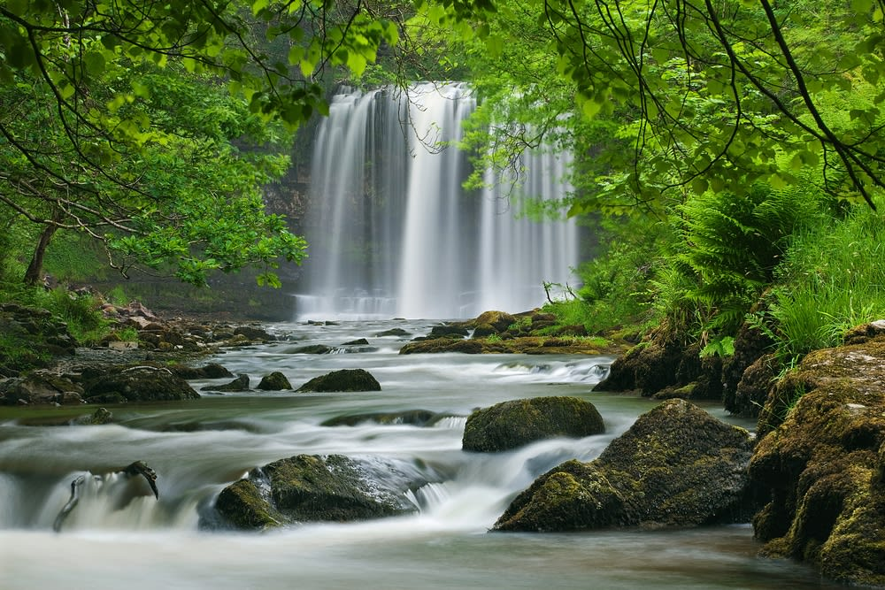 Unconventional travel ideas for all the family in 2019: Sgwd yr Eira Waterfall, Brecon Beacons, Wales