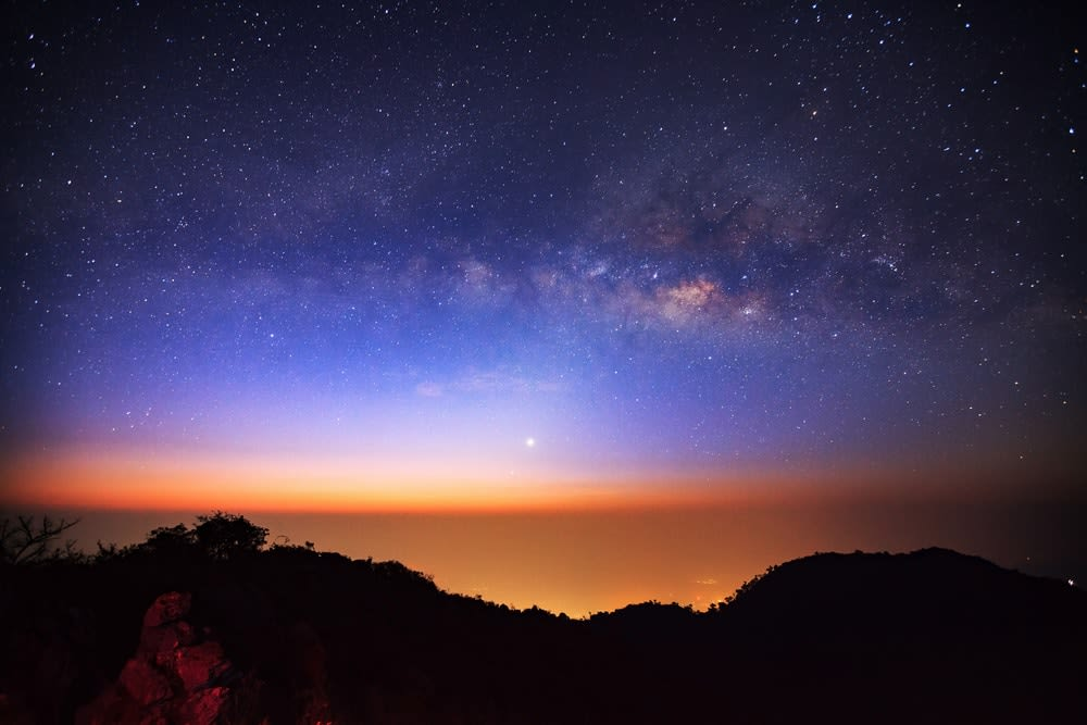 Unconventional travel ideas for all the family in 2019: Milky Way Galaxy at Doi Luang Chiang Dao