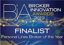 Broker innovation awards 2019 Personal lines broker of the year finalist