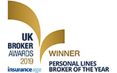 UK broker awards 2019 personal lines broker of the year
