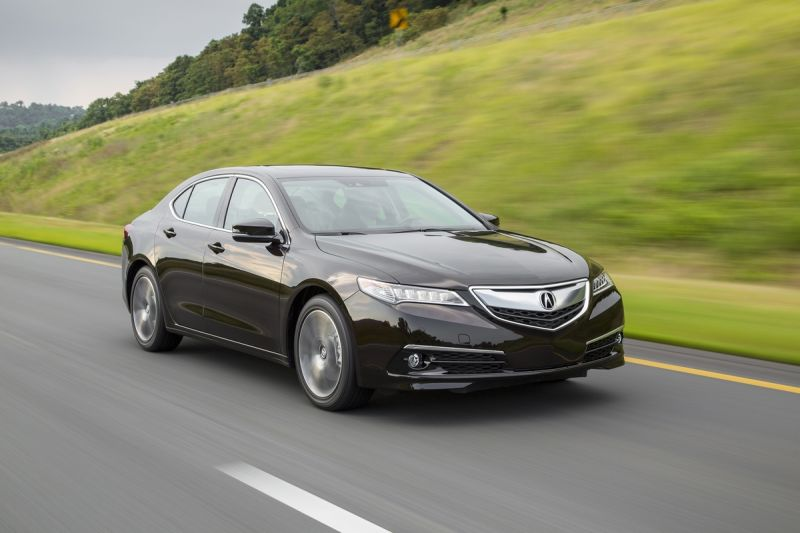 Acura TLX Rating And Competitors - Acura tl competitors