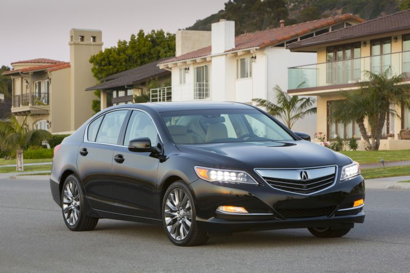 Acura RLX Rating And Competitors - Acura tl competitors