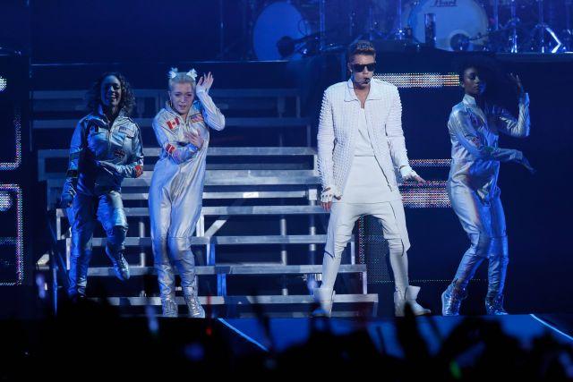 Бибер стал самым прослушиваемым музыкантом на платформе Spotify