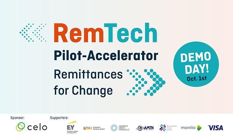 banner of Remtech Pilot-Accelerator - Remittances for Change