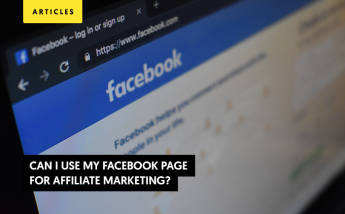 Can I use my Facebook page for Affiliate Marketing?