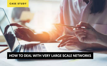 Affiliate Media Buy case study How to deal with very large scale networks