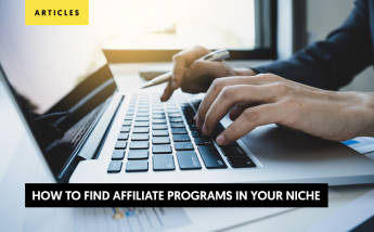 How to Find Affiliate Programs in your Niche?