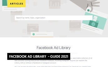 Facebook Ad Library Guide 2021