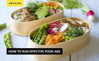 8 tips to run effective food ads