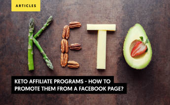 How to Promote Keto Affiliate Programs From a Facebook Page