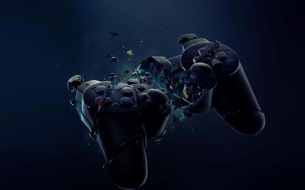Quebrando o controle de PS4