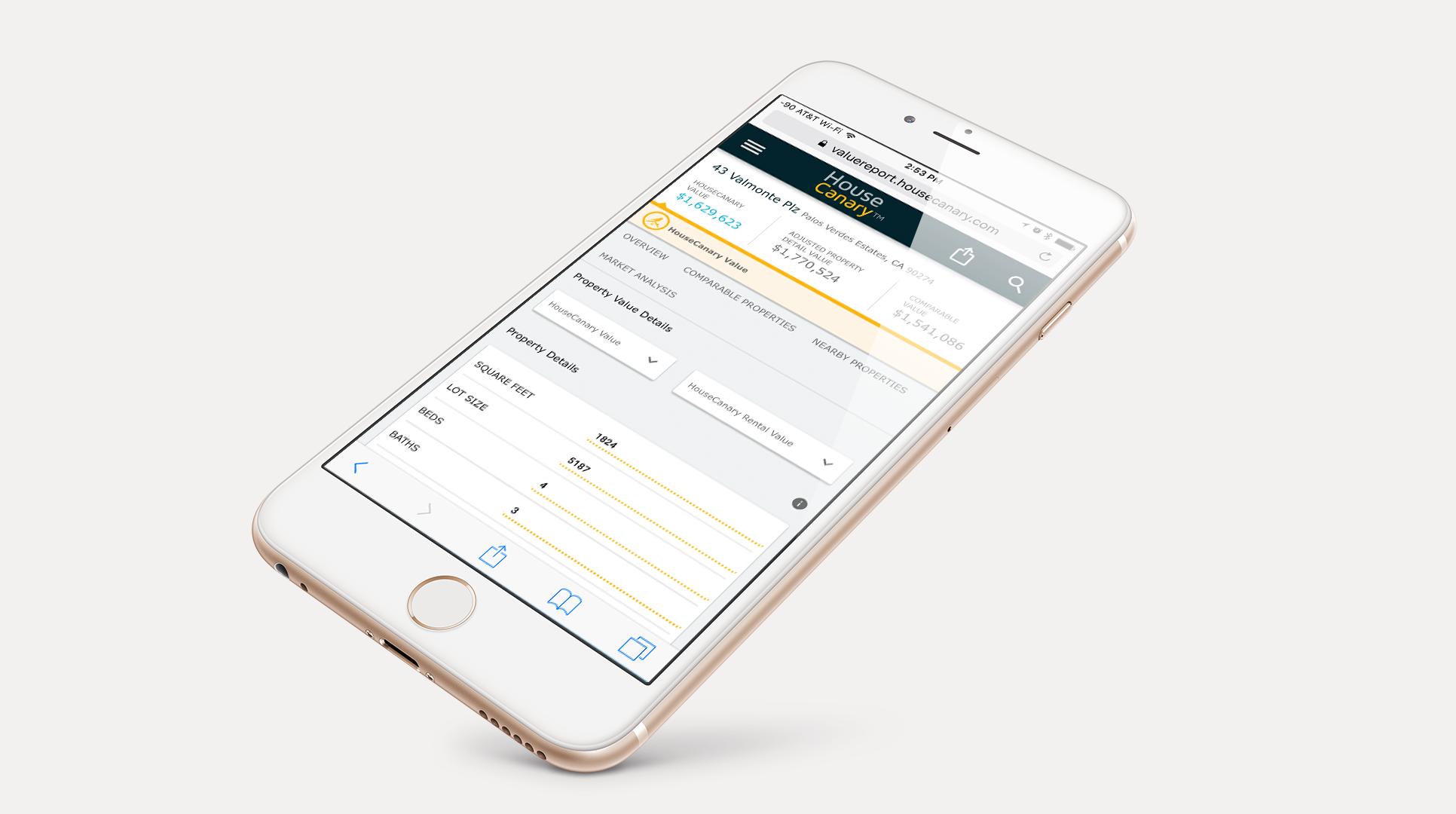 Value Report Mobile
