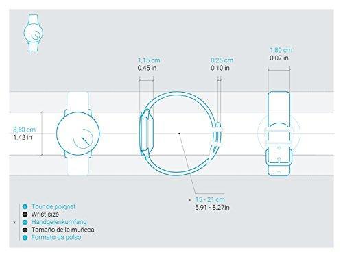 another image ofWithings Activité Steel - Smartwatch mit Aktivitäts- und Schlaftracker - Mineraglas & Edelstahl - Black