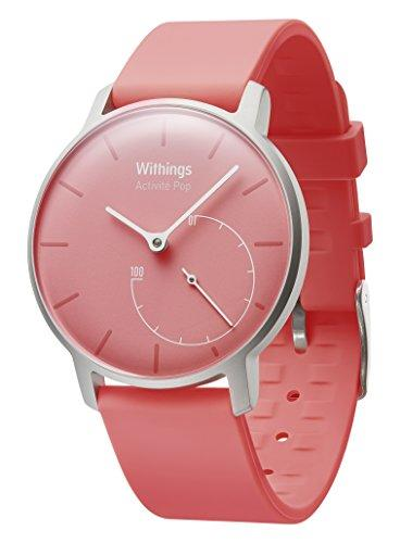 another image ofWithings Aktivitätstracker Pop Smart Watch Coral, Pink, 70091001