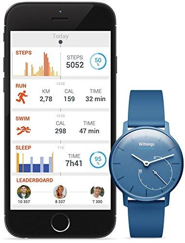 another image ofWithings Aktivitätstracker Pop Smart Watch Aktivitäts und Schlaf tracker, Azure, 70076701