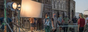 Great studios and financial incentives are drawing big names into Serbia