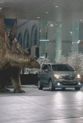 Jurassic Park returns to US in car ad