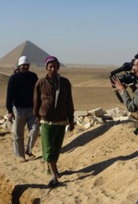 Filming in Egypt - with an archaeologist