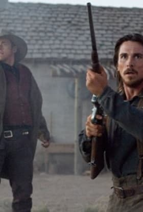 Christian Bale filming Hostiles in New Mexico