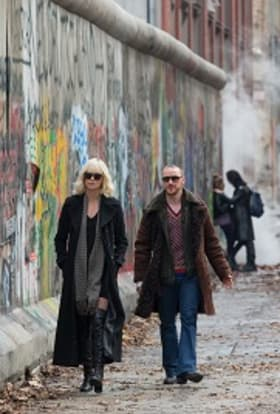 Atomic Blonde filmed the Berlin Wall in Budapest