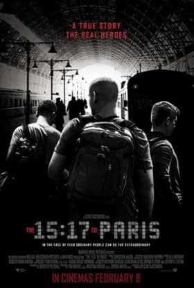 Clint Eastwood films The 15:17 to Paris in France