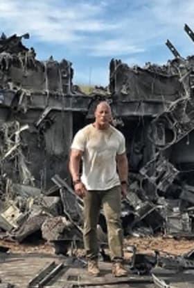 Dwayne Johnson preps Vancouver filming