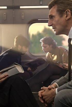 Neeson's The Commuter films UK as New York