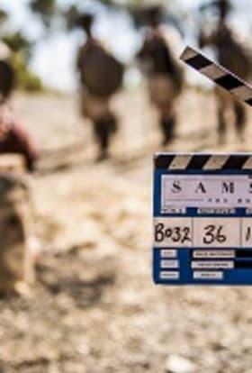 Biblical movie Samson films in South Africa