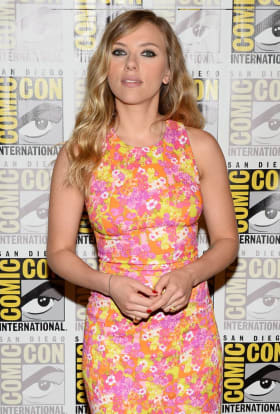 Scarlett Johansson filming Lucy in Paris