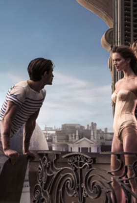 Stunning Jean Paul Gaultier ad shot in Barcelona