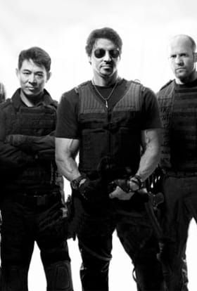 Stallone, Schwarzenegger and Statham set off for Sofia