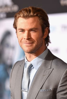 Chris Hemsworth prepares for The Avengers: Age of Ultron
