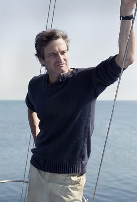 Colin Firth films at sea for true-life The Mercy