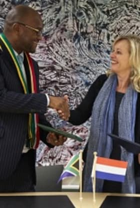 South Africa signs co-production film deal with the Netherlands